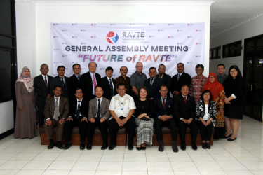 UNY tuan rumah The 4th General Assembly Meeting RAVTE